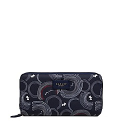 Radley - Navy printed 'Fenchurch Street' large matinee purse