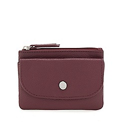 Principles - Wine red leather coin purse
