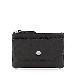 Principles - Black leather coin purse