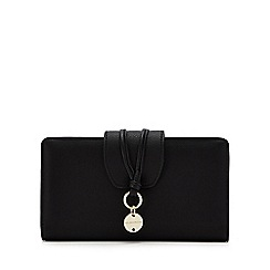 RJR.John Rocha - Black metal charm detail large purse