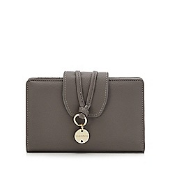 RJR.John Rocha - Grey metal charm detail medium purse