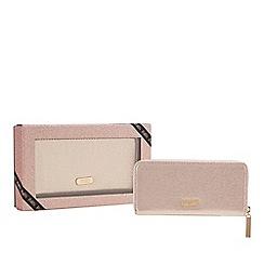 Faith - Pink glitter large purse