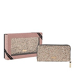 Faith - Gold glitter large purse