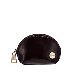 J by Jasper Conran - Wine dome crinkle coin purse