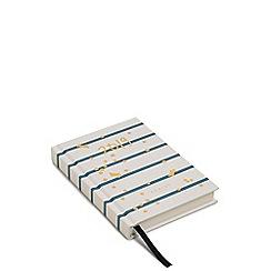 Radley - Ivory Stripe Print A6 Diary