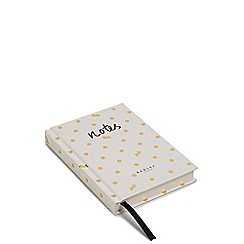 Radley - Ivory Polka Dot Print A6 Notebook