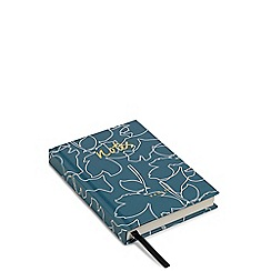 Radley - Turquoise Linear Dog Print A6 Notebook