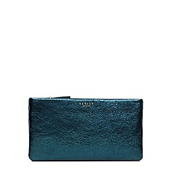 Radley - Turquoise leather 'Ashby Road' medium pouch