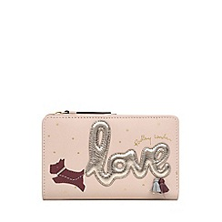 Radley - Light Pink Leather 'Love Is In The Air' Medium Purse