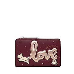 Radley - Wine Leather 'Love Is In The Air' Medium Purse
