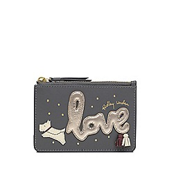 Radley - Grey Leather 'Love Is In The Air' Small Coin Purse