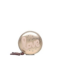 Radley - Metallic Leather 'Love Is In The Air' Small Round Purse