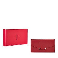 J by Jasper Conran - Red leather purse