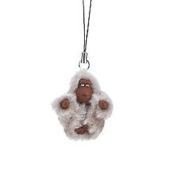 Kipling - Grey monkey keyring