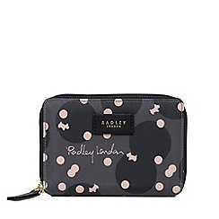 Radley - Dark Grey 'Cloud Hill' Medium Zip Around Purse
