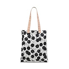 Radley - Black and White 'Cloud Hill' Medium Tote Bag