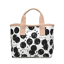 Radley - Black and White 'Cloud Hill' Small Grab Bag