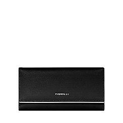 Fiorelli - Black 'Carmen' large dropdown purse