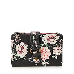 Mantaray - Multicoloured Floral Fold Over Purse