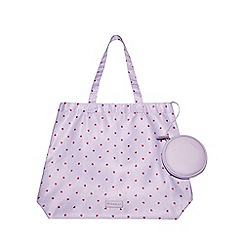 Fiorelli - Lilac 'Emma' Foldable Shopper Bag
