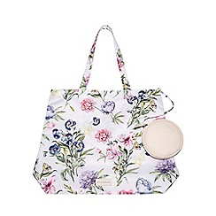 Fiorelli - Multi-Coloured Floral Print 'Emma' Foldable Shopper Bag