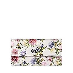 Fiorelli - Multi-Coloured Floral Print 'Libby' Drop Down Purse