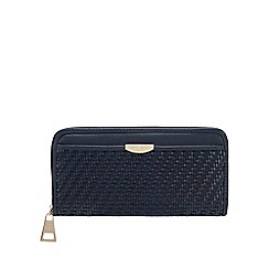 J by Jasper Conran - Navy 'Monaco' Weave Large Purse