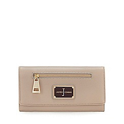 J by Jasper Conran - Taupe Zip Front Large Purse