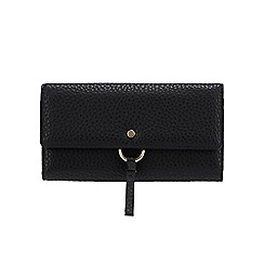 RJR.John Rocha - Black 'Borough' Large Flap Over Purse