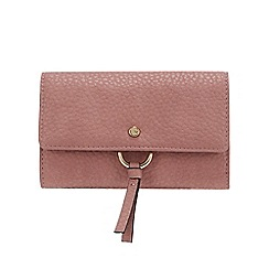 RJR.John Rocha - Pink 'Borough' Medium Flap Over Purse