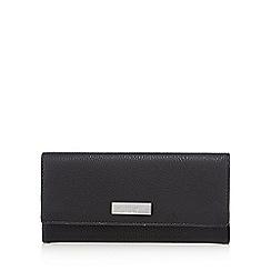 Principles - Black and white colour block large purse