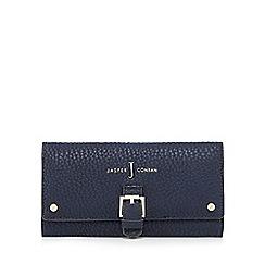 J by Jasper Conran - Navy buckle detail large flapover purse