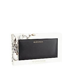 RJR.John Rocha - Boxed Black leather zip-around wallet