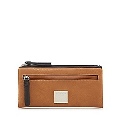 Principles - Tan soft fold over purse