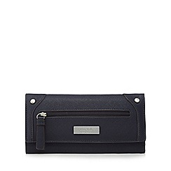 Principles - Navy flap over large purse