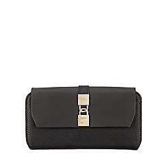 Fiorelli - Black Evie Large Flapover Purse