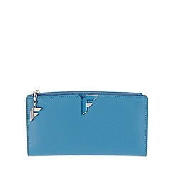 Fiorelli - Cyan blue Lara large zip top purse