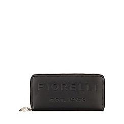 Fiorelli - Black Logo Large Zip Around Purse