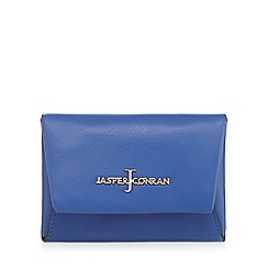 J by Jasper Conran - Bright blue leather small purse