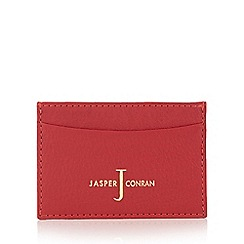 J by Jasper Conran - Red leather card holder