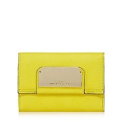 Star by Julien Macdonald - Yellow flap over wallet