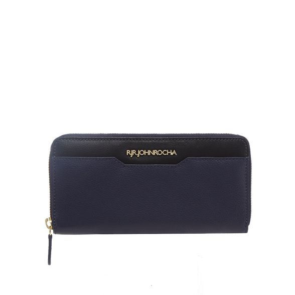 Rocha zip two John RJR around Navy wallet tone 7ngOxaF