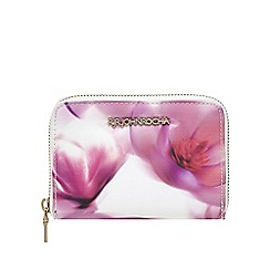 RJR.John Rocha - Multi-coloured floral print purse