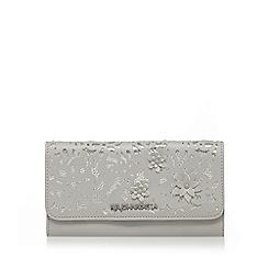 RJR.John Rocha - Grey large foldover purse