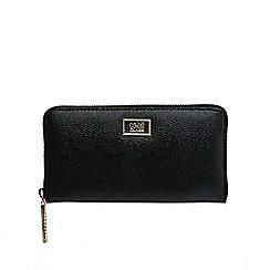 Cavalli Class - Black 'Leogram' purse