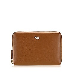 Radley - Medium tan leather 'Blair' zip around purse