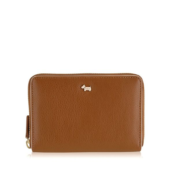 Medium around leather 'Blair' purse Radley zip tan aBqST