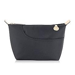 Radley - Medium black nylon 'Pocket Essentials' cosmetic case