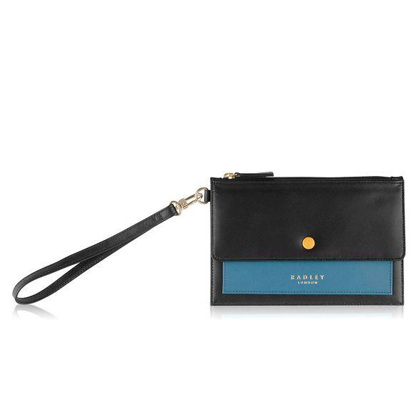 Black bag Medium clutch Radley 'Hatton' HwPSdHqx