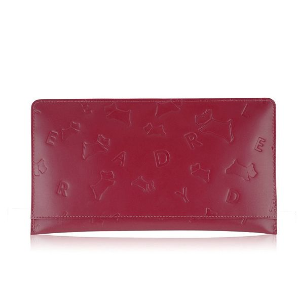 large Radley Red clutch 'Oriel' bag gxxXnpPf